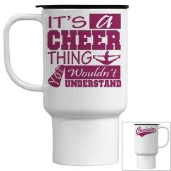 Cheerleader Travel Cup