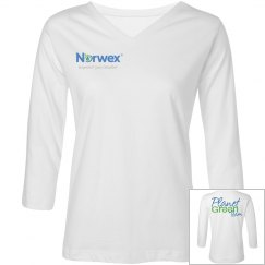 Black PGT 3/4 Sleeve Shirt