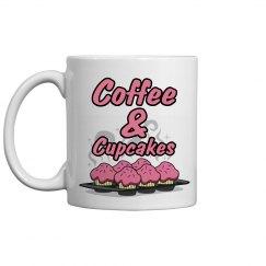 Coffee & Cupcakes Mug