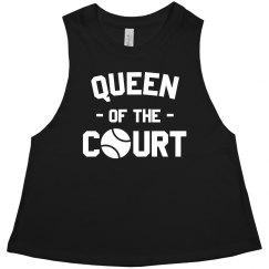 Tennis Queen on the Court