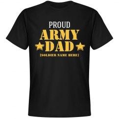 Custom Proud Army Dad