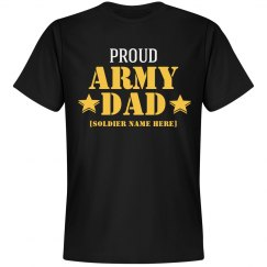 Custom Proud Army Dad
