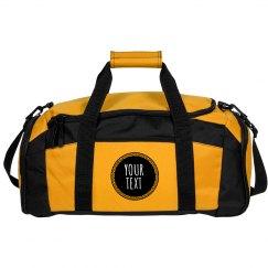 Your Text Custom Design Duffel Bag