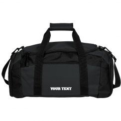 Add Your Text Personalized Duffel