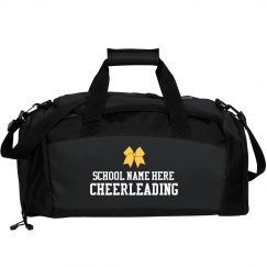 Cheerleading Custom School Duffel