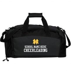 Cheerleading Custom School Duffel