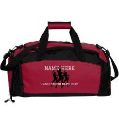 Custom Name Dancer Duffel Bag