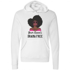 Personalized Drama Free African American Woman Hoodie