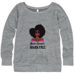 Personalized Drama Free African American Woman Top