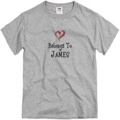My heart belongs to James