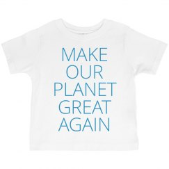 Toddlers Making Our Planet Great Again