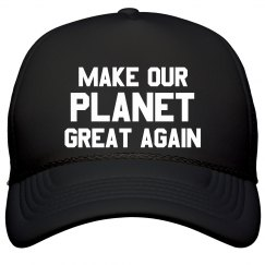 Make Our Planet Great Again Cap