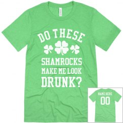 Custom Name/Number Drunk Shamrocks