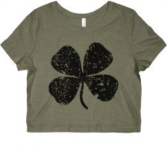 Clover Cropped Tee