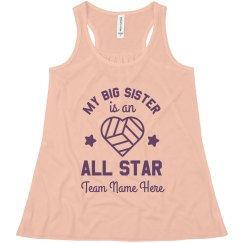 Volleyball Sister Custom Team