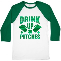 Drink Up Pitches Mens St. Patrick's