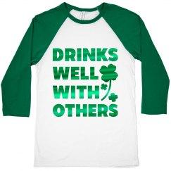 St Pattys Mens Drinking Shirts