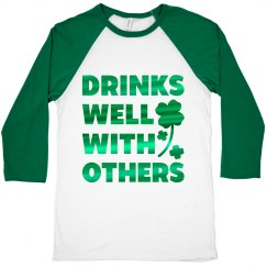 St Pattys Mens Drinking Shirts