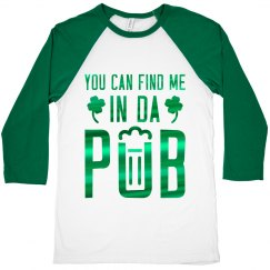 St. Patrick's Day Mens Drinking Tee