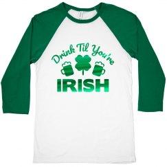 St. Pat Irish Bar Crawl Shirts