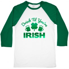 St. Pat Irish Bar Crawl Shirts