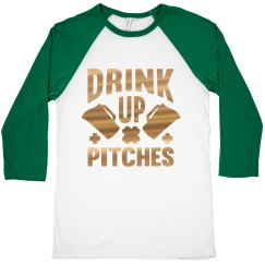 Drink Up Green Beer On St. Patty's