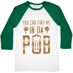 In Da Pub St. Patricks Day Drinking