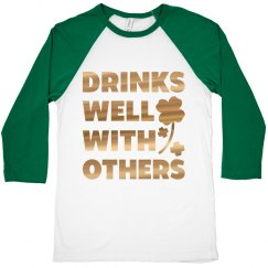 Drinks Well With Others St Patty's