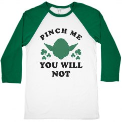 Yoda St. Patrick's Day Pinch Me Tee