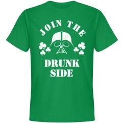 Join The Drunk Side Vader St. Patty