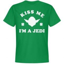 Kiss Me I'm A Jedi St. Patricks Day