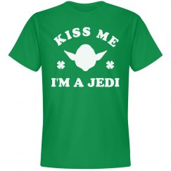Kiss Me I'm A Jedi St. Patricks Day