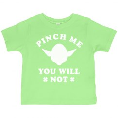 St Patricks Day Toddler Pinch Yoda