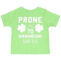 Irish Shenanigans Custom Toddler