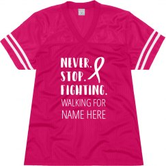 Fighting For Breast Cancer Awareness