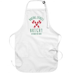 Baking Spirits Bright Holiday Aprons