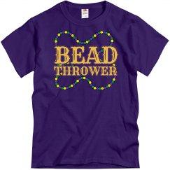 Mardi Gras Bead Thrower