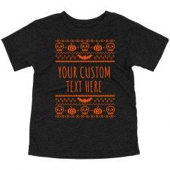 Custom Ugly Halloween Kids Pumpkins
