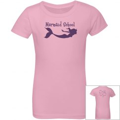 Mermaid School Youth Tee