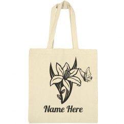 Color Your Own Spring Lily Bag