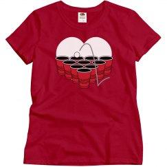 Love Beer Pong T-Shirt