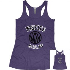 Misfits logo girls tank