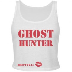 GHOST HUNTER CROP TOP