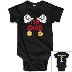 1st Birthday - I'm one