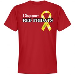 I Support Red Fridays Men