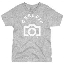 Boys Selfie Shirt