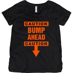 Caution Baby Bump Ahead