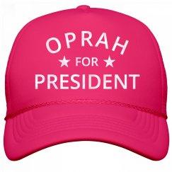 Shiny Pearl Oprah For President