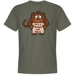 Monkey Tee - Unisex Preshrunk Cotton Shirt