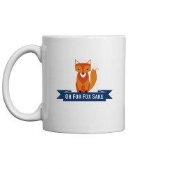 Fox cup blue